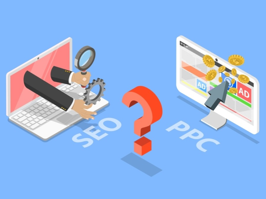 image showing SEO or PPC