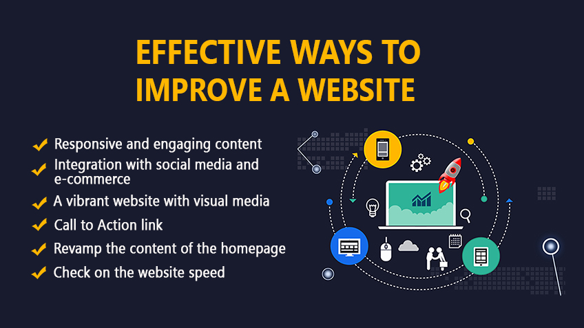 EFFECTIVE WAYS TO IMPROVE A WEBSITE
