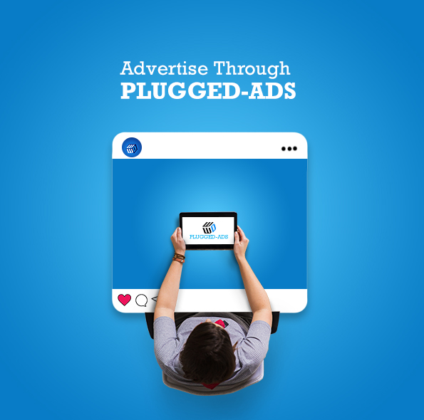 Advertise through plugged ads on facebook